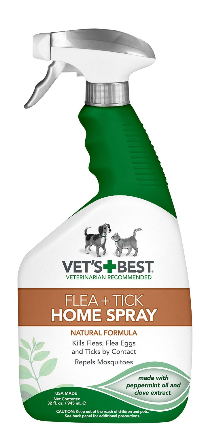 Natural Flea Tick Spray