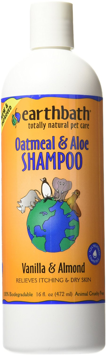 All Natural Dog Shampoo Oatmeal Aloe