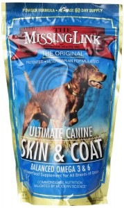 Skin & Coat Dog Supplement