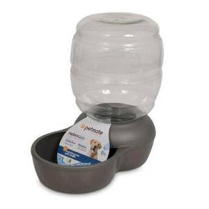 dog waterer with microban
