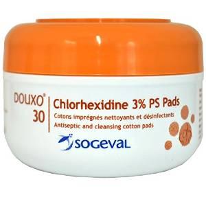 douxo chlorhexidine pads