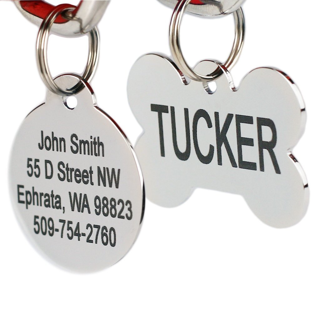 Stainless Dog Tags
