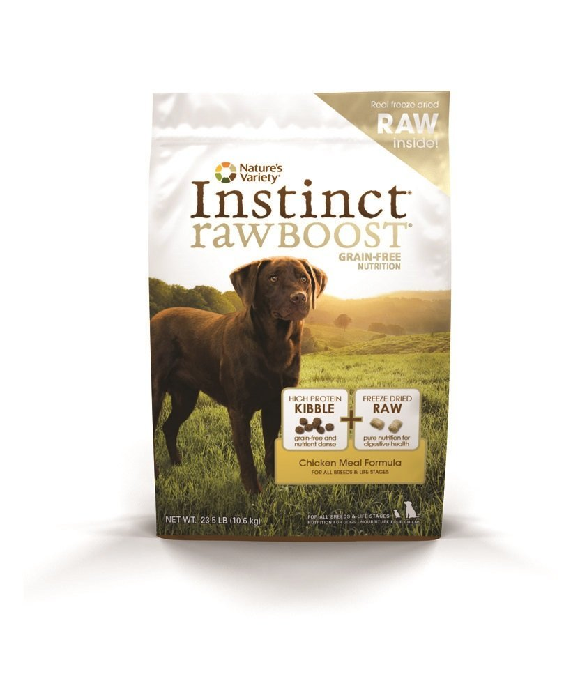raw dog food chicken